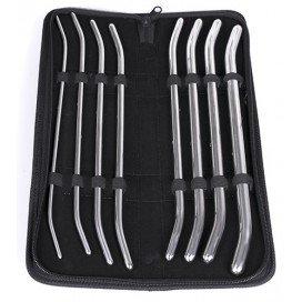 Pack de 8 Tiges pour urètre 29cm - 4.5 à 14.5mm