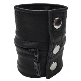 Kiotos Bracelet de force 9.5cm Noir