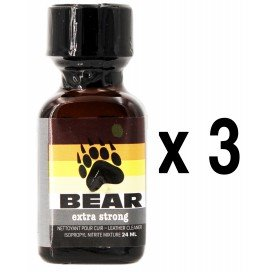 Poppers BEAR 24mL x3