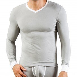 T-shirt Thermo Modal Gris