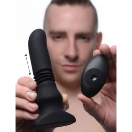 ThunderPlugs Plug vibrant avec action de poussée 15 x 3.5 cm