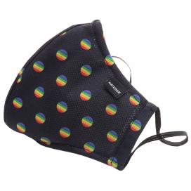Masque Filtrant C95 MAJOR GENERAL MICHELINHO Noir et Rainbow