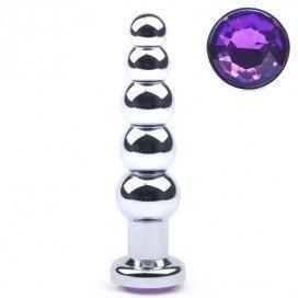 Rosebud Plug Beads Purple