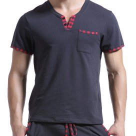 Wang Jiang T-Shirt Lounge Gris