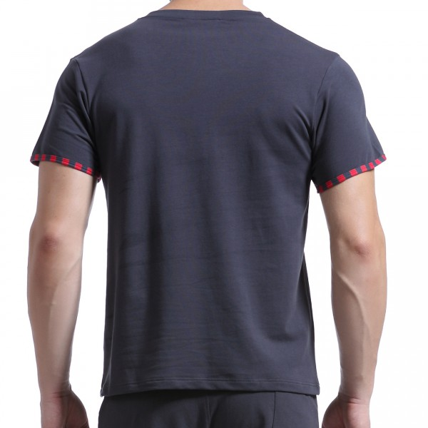 T-Shirt Lounge Gris