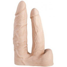 Double gode Dildorama 12cm Flesh