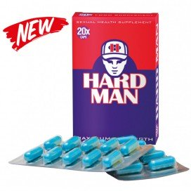 Hard Man Stimulant sexuel Hard Man 20 gélules