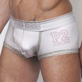 Boxer Pink Hero P2 Pouch Blanc