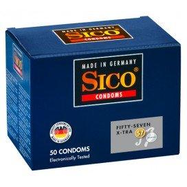 Sico Préservatifs Sico x50 57mm