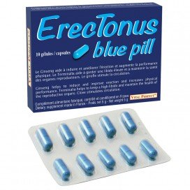 Vital Perfect Stimulant ErecTonus Blue Pill 10 gélules