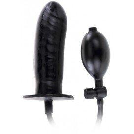 Gode gonflable Bigger Joy 14 x 4.5 cm Noir