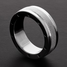 Triune Cockring Cool and Knurl 15mm