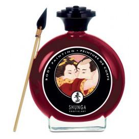 Shunga Peinture corporelles à la Fraise- Shunga-100ml