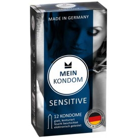 Mein Kondom Préservatifs Sensitive Fins x12