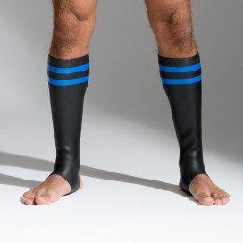 665 Socks en néoprène Bandes bleues