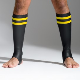 665 Socks en néoprène Bandes jaunes