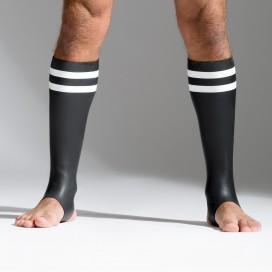 665 Socks en néoprène Bandes blanches