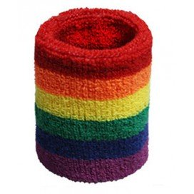 Brassard Eponge Rainbow