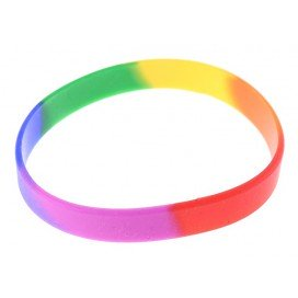Bracelet Rainbow Silicone