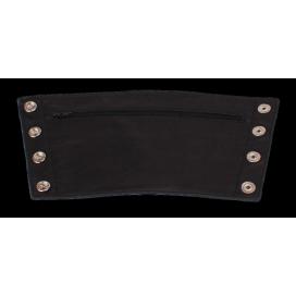 Cockpik Bracelet de force Large en cuir avec Zip