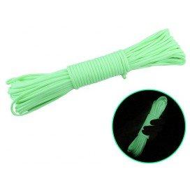 FUKR Corde pour bondage vert phosphorescent 15m