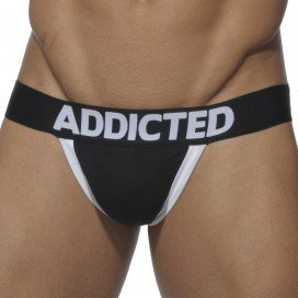 Addicted XXXL Push Up Jockstrap Noir