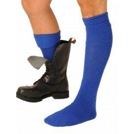 Chaussettes Boot Bleues