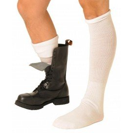Chaussettes Boot Blanches