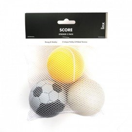 Linx Lot de 3 masturbateurs STROKER BALL Score