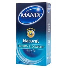 Manix Préservatifs Natural Easy-Fit x14