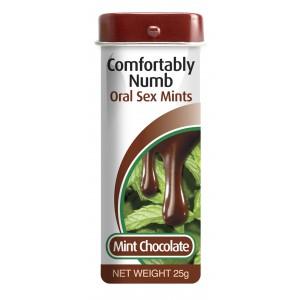 PipeDream Comprimés de Gorge profonde Menthe-Chocolat 25gr