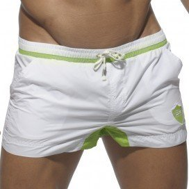 ES Collection Short de bain Maria Theresien blanc