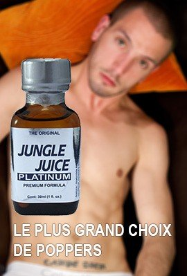 Le plus grand choix de Poppers