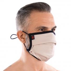 Masque lavable à plis FASHION Beige