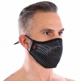 Masque lavable ROMAN Argenté