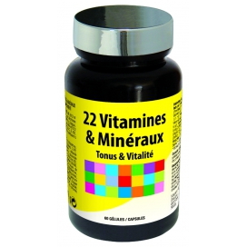 Nutri Expert 22 Vitamines et Minéraux 60 Gélules