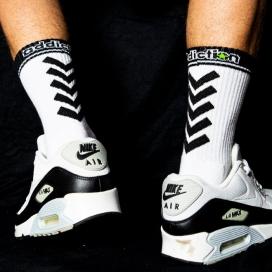 "Addiction addiction Socks ""sporty"""
