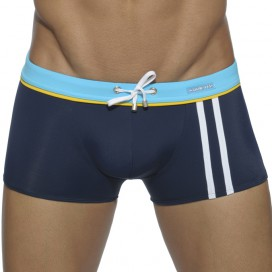 Addicted Boxer de bain Sport Binding Marine