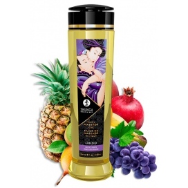 Huile de massage LIBIDO Fruits exotiques 240mL