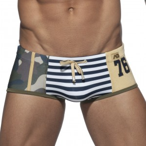 Addicted Boxer de bain Metal Sailor