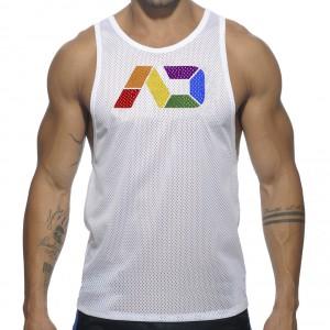 Addicted Débardeur AD Rainbow Blanc